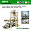 Multicouche Co-Expulser tournent la machine de soufflement en plastique de traction