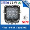 '' luz resistente del trabajo de la lámpara LED de la luz del trabajo del LED 4.5