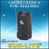 Partalampada fenolico della base dei lampadari E12 (Spingere-nei terminali); E12h-#