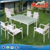 Extending Dining Table와 Sling Chairs를 가진 도매 정원 Furniture