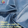 Prodotto di nylon intessuto 460 T del taffettà per l'indumento del rivestimento (GLLML322)