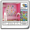 3D Glitter Multilayer Wall Sticker para Child Dd010
