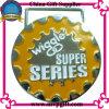 Kundenspezifische Sport-Medaille mit Stich des Firmenzeichen-3D