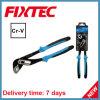 A mão CRV de Fixtec 10 de  utiliza ferramentas multi alicates funcionais da bomba de água