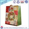 Qualität passen frohe Weihnacht-Papierbeutel für Geschenk an