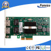 10/100/1000Mbps Dual Port RJ45 Copper Ethernet Server Adapter, NIC di Server Application della chipset dell'Intel 82576