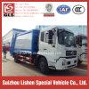 압축성 쓰레기 트럭 Dongfeng 쓰레기 트럭 공장 가격 좋은 품질