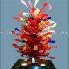 Het veelkleurige Kunst Geblazen Beeldhouwwerk van de Ambacht van het Glas voor Decoratie