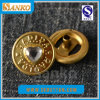 Customized Logo를 가진 다이아몬드 Brass Snap Button