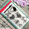 Buon Quality Clear Stamps con Musicnote Butterfly Heart Shape
