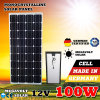 Schwarzer 200W 200watt Sonnenkollektor Gleichstrom-12V 12 Volt