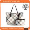 Neueste klassische Plaid-Tendenz PU Dame Handbag