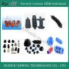 Автозапчасти силиконовой резины черноты высокой точности