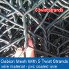 Fornitore rivestito dei cestini del PVC Gabion