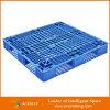 HDPE de Materiële Plastic Pallet van uitstekende kwaliteit van de Opslag van het Pakhuis