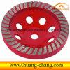 Конкретный меля диск, колесо чашки диаманта для бетона
