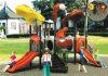 Petite cour de jeu extérieure d'excellente conception populaire de qualité pour les enfants (A-01002)