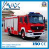 中国Supplier HOWO 4X2 Water Tanker Fire Truck