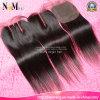 Capelli brasiliani dei capelli peruviani malesi dei capelli/chiusura indiana con i gruppi