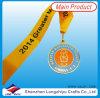 Medalla de la universidad con la impresión de la cinta