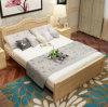 固体木のベッドの現代ベッド(M-X2826)