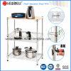 Prateleira clara da cozinha do aço de carbono do dever de Adjusatable DIY (LD753590B3C)