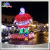 luz de Natal do diodo emissor de luz de 3m Papai Noel ao ar livre