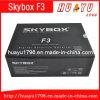 2014 nueva TV vía satélite Receiver del F3 Full HD 1080P DVB De Settopbox Skybox Cccam Skybox con la conexión a internet