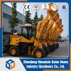 Fabrikant van China articuleerde Lader van het Wiel van 1.5 Ton de Mini voor Verkoop