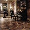 Piso francés reclamado de Versalles del roble/suelo de mosaico de madera dirigido