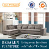 Grey Color Promotion Living Room Fabric Sofa Furniture (690)