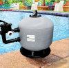 Por encima de piscina de tierra del tanque Filtro de arena con válvula rotativa de montaje lateral
