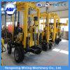 Plate-forme de forage hydraulique montée par remorque de puits d'eau de constructeur (HWD-230)