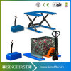 1ton Fixed Low Height U Type Pallet Scissor Lift Table