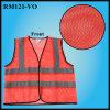 Maglia riflettente poco costosa di avvertimento del fabbricato di maglia (RM121-VO)