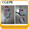 Entraînement de stylo usb de forme de bonhomme de neige de PVC (PAR EXEMPLE 609)