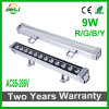 좋은 품질 9W AC85-265V는 색깔 LED 벽 세탁기 빛을 골라낸다