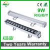 La buena calidad 9W AC85-265V escoge la luz de la arandela de la pared del color LED