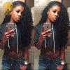 Kinky Cabello virgen humana brasileña del pelo de la Virgen rizada