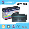 Laser Printer Toner Cartridge de Compatible da cimeira para Q7516A