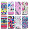 iPhone 6のためのOEM Pattern Beautiful PU Leather MobileかCell Wallet Filp Print Phone Cover Case