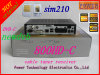 SIM2.10 카드 새로운 DVB Dm800HD Nutune 조율사 800c DVB-C 케이블 수신기