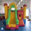 Castelo colorido inflável do projeto da água dos Cocos no estoque LG9045