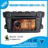 Androïde 4.0 Car Audio pour Mazda Cx-7 2009-2011 avec la zone Pop 3G/WiFi BT 20 Disc Playing du jeu de puces 3 de GPS A8
