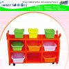 Шкаф собрания игрушки дешевой мебели детсада цены пластичный (HB-04004)