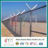 PVC動物園のために囲う上塗を施してある刑務所の塀/チェーン・リンク