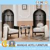 鳥かごの形の5つの星のホテルのための木製の椅子の余暇の椅子