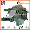 Máquina da fatura de papel de tecido do toalete do baixo custo de modelo pequeno, papel Waste que recicl a maquinaria