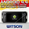 Witson Android 4.4 Car DVD voor Chrysler Sebring met A9 ROM WiFi 3G Internet DVR Support van Chipset 1080P 8g