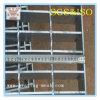 Reja de acero galvanizada para la plataforma (ISO)